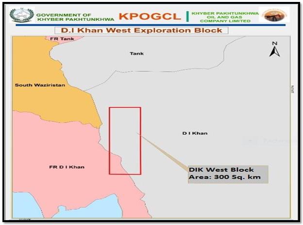 Administrative Map of DIK West Block