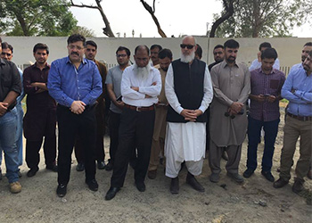 EX-GM MR. Nazir Ul Haq While Praising/Appreciating Nowshera Block